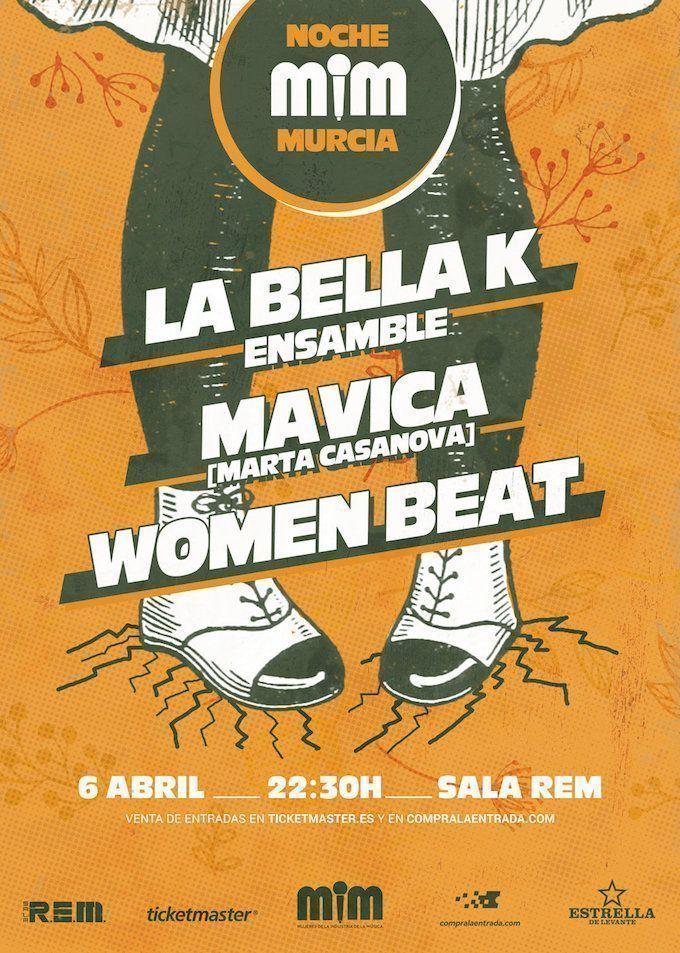 Las noches MIM llegan a Murcia el 6 de abril