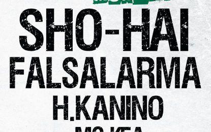 Sho Hai estará presentando su nuevo disco en Murcia junto a Falsalarma
