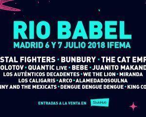 Río Babel: Confirmados y entradas
