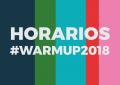 WARM UP Estrella de Levante 2018: Horarios