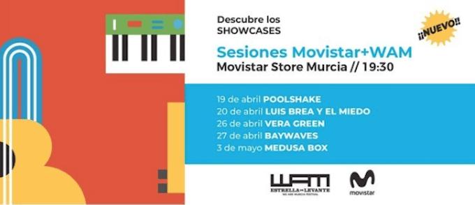 WARM Estrella de Levante presenta las sesiones Movistar+