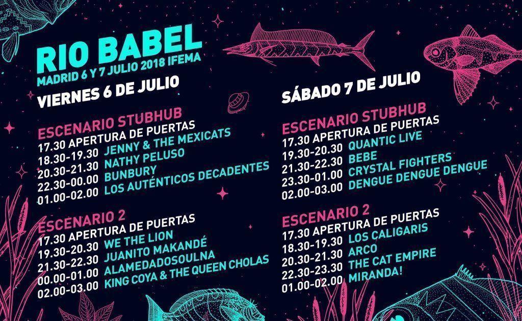 Río Babel 2018