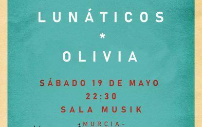 Adiós Nicole, Olivia y Lunáticos en concierto en Musik