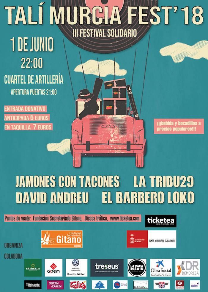 Llega la III edición del Talí Murcia Fest
