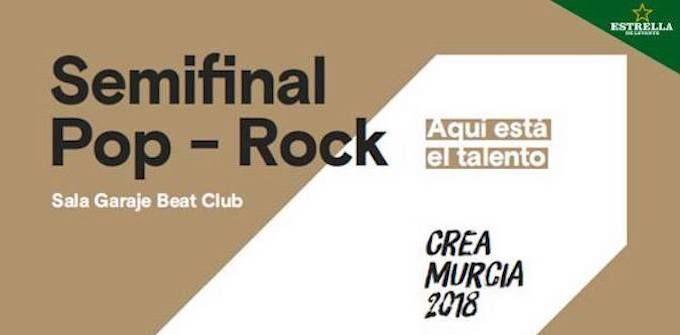 Semifinales pop rock CreaMurcia 2018