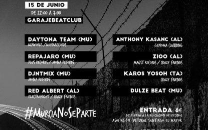 Electrónica Contra El Muro en Garaje Beat Club