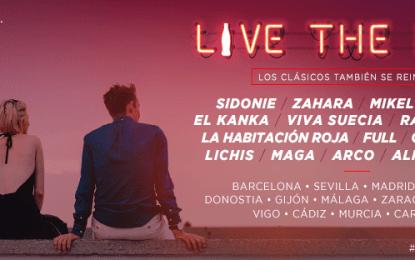 Vuelve la gira Live The Roof, con nuevas ciudades entre sus novedades