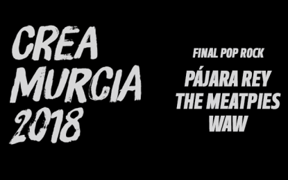 Finalistas del CreaMurcia Pop Rock 2018