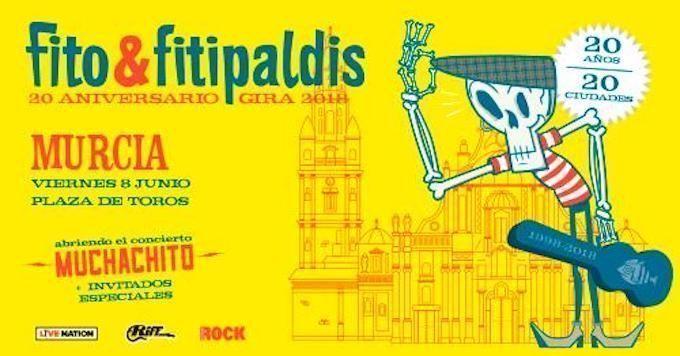 La gira 20 aniversario de Fito & Fitipaldis pasa por Murcia