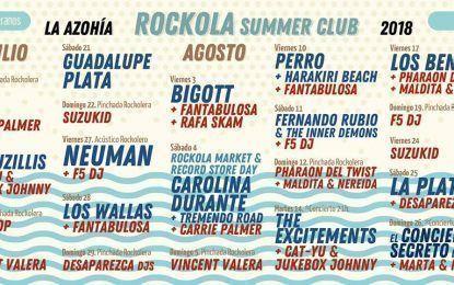 Rockola Summer Club La Azohía: Programación 2018