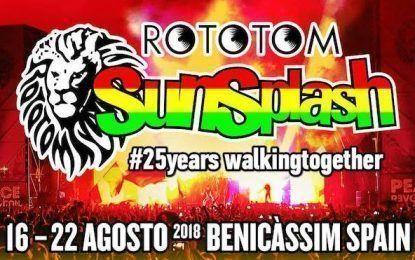 Llega el 25 aniversario del Rototom Sunsplash