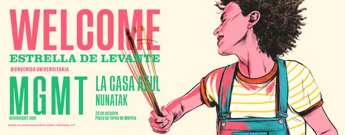 El Welcome dará la bienvenida al nuevo curso con MGMT, La Casa Azul y Nunatak