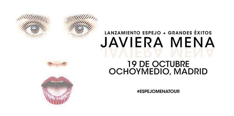 Javiera Mena actuará en Madrid el 19 de octubre