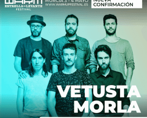 Vetusta Morla, primera gran confirmación nacional del WARM UP