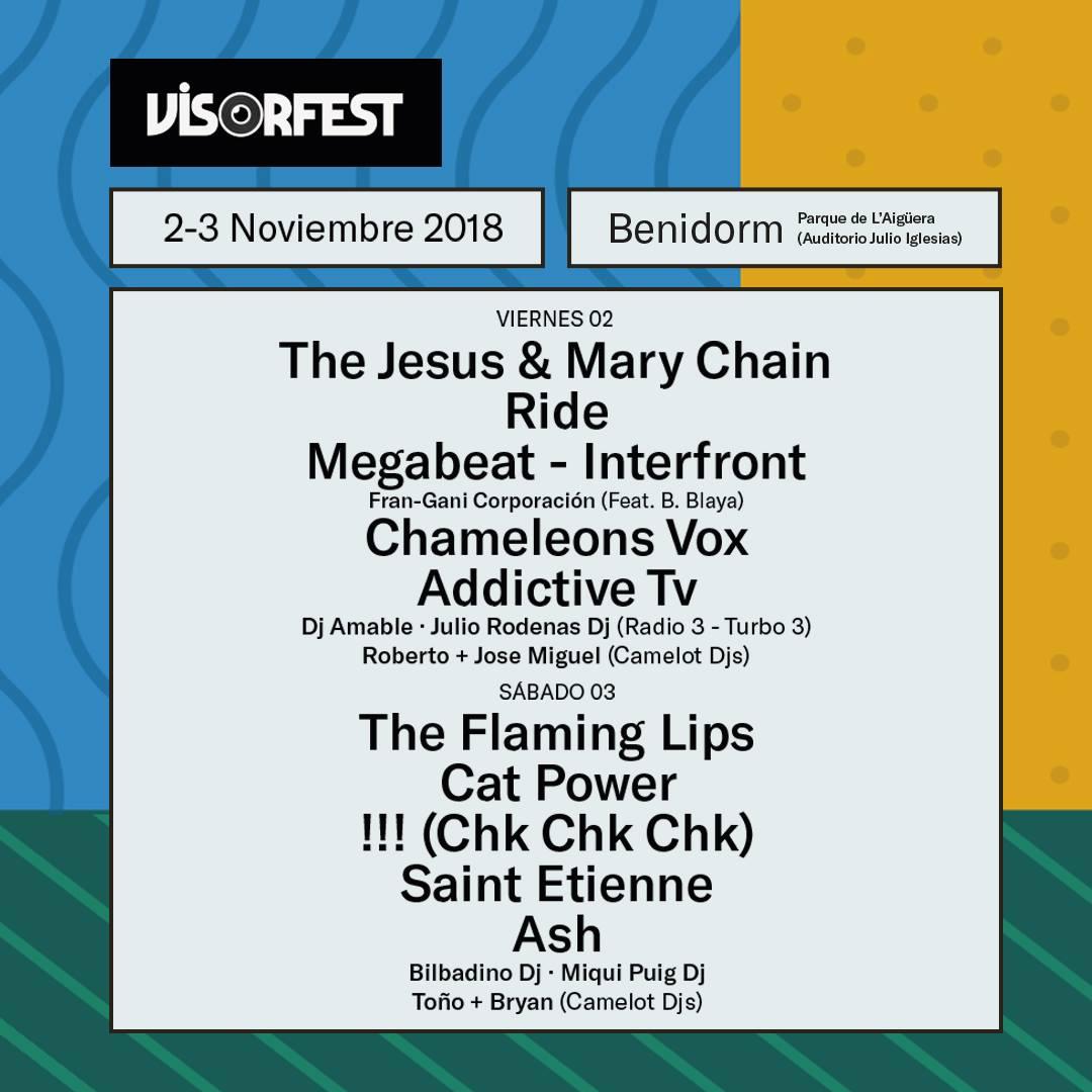 Visor Fest llega a Benidorm el 2 y 3 de noviembre