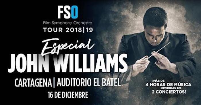 Film Symphony Orchestra regresa a Cartagena con el mayor homenaje jamás dedicado a John Williams en España
