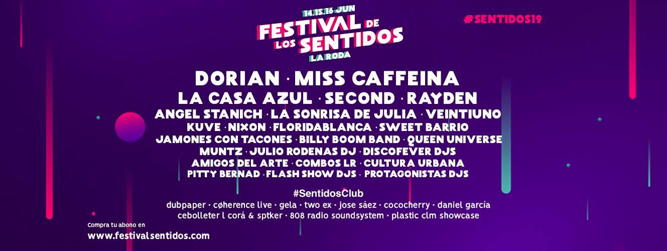 Festival de los Sentidos 2019: Confirmados y entradas