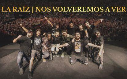 Último concierto de La Raíz en Valencia
