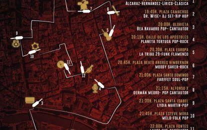 Doce conciertos en la calle darán la bienvenida a la Navidad en Murcia