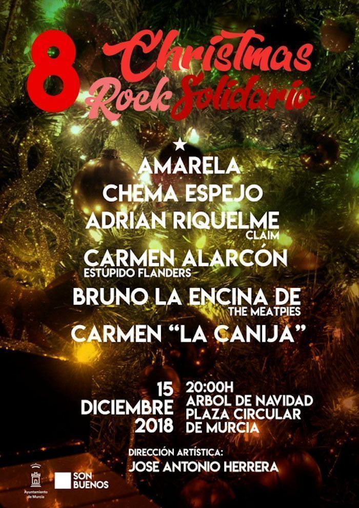 Christmas Rock Solidario de Murcia celebra su octava edición