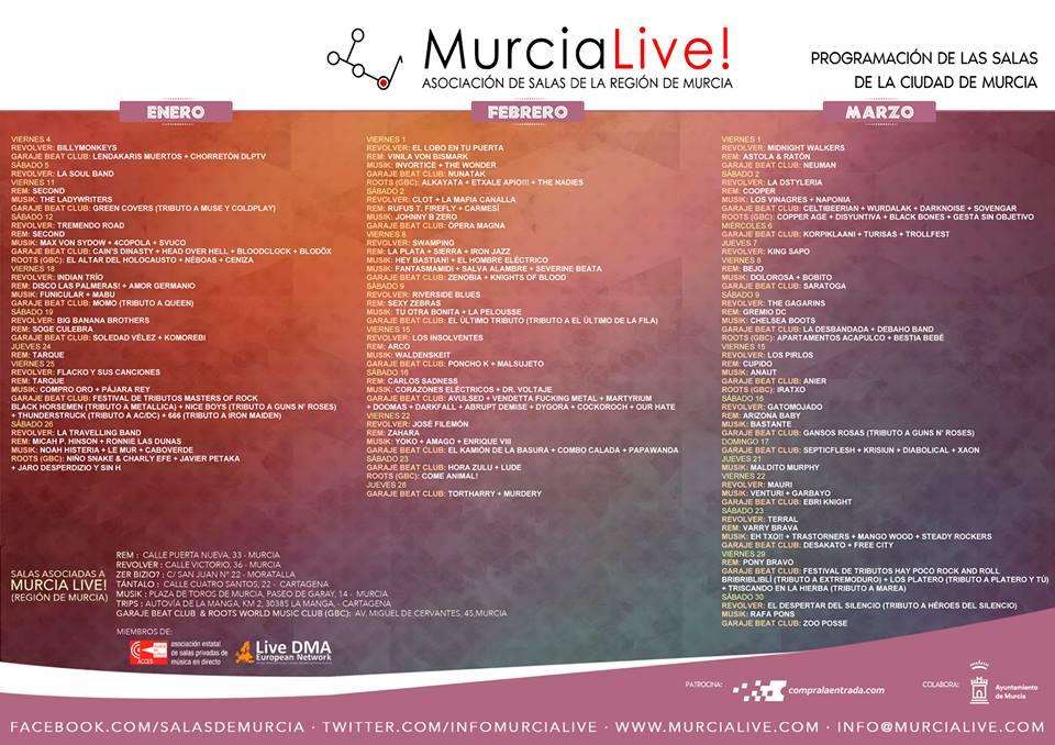 Conciertos Murcia Live
