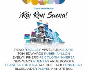 Ya se conocen las 24 bandas que estarán en el concurso Rin Ran Suena