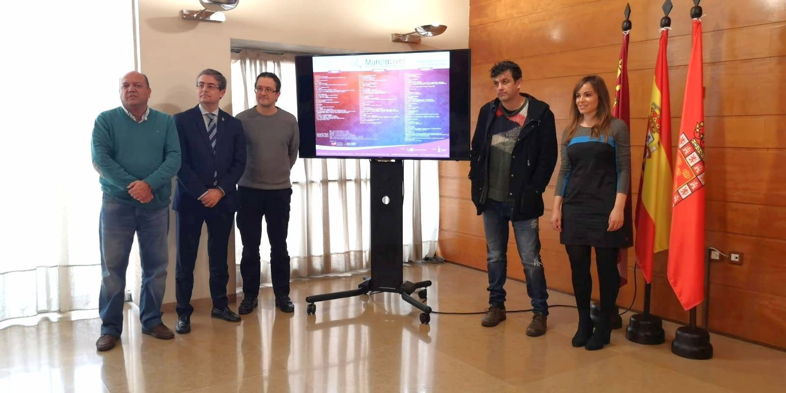 El Ayuntamiento de Murcia da visibilidad a las salas de conciertos