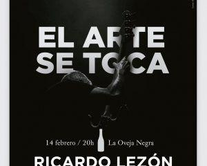 Ricardo Lezón en El Arte se Toca de Murcia Inspira