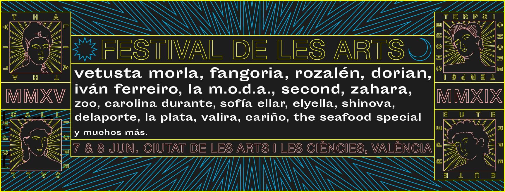 Les Arts 2019: Confirmaciones y entradas
