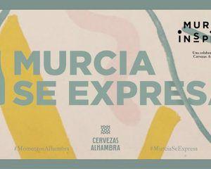 Chipone, Isaak y Josh inauguran la primera cita de Murcia Se Expresa de Cervezas Alhambra