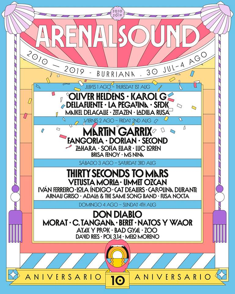 Arena Sound 2019