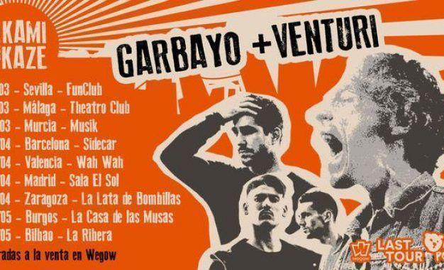 La gira Kamikaze de Garbayo y Venturi llega a Murcia