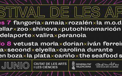 Festival de Les Arts 2019: Confirmaciones y entradas