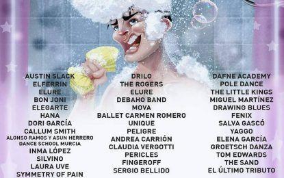 El talento emergente murciano sale a la calle en Actúa Murcia 2019