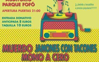 Talí Murcia Fest'19, el 31 de mayo en Murcia con Muerdo, Jamones con Tacones y Mono a Cero