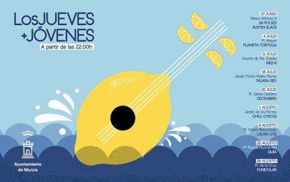 Los Jueves + Jóvenes nos propone música en las plazas de la ciudad