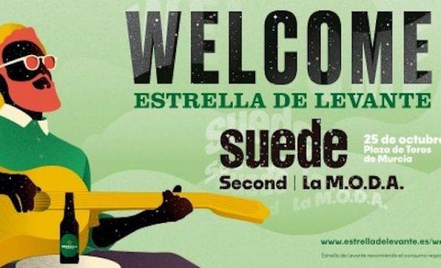 El Welcome Estrella de Levante 2019 será el 25 de octubre y contará con Suede, Second y La M.O.D.A.