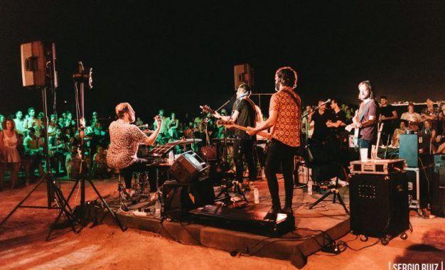 Fotocrónica de Nunatak en Rockola Summer Club La Azohía