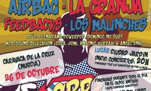 Caravaca Power Pop trae lo mejor de este género musical a Caravaca de la Cruz