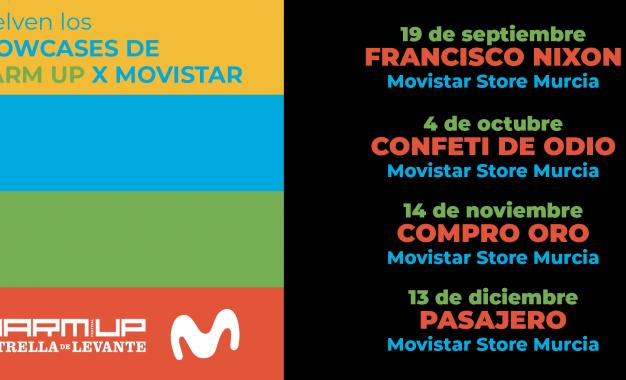 Vuelven los showcases WARM UP x Movistar