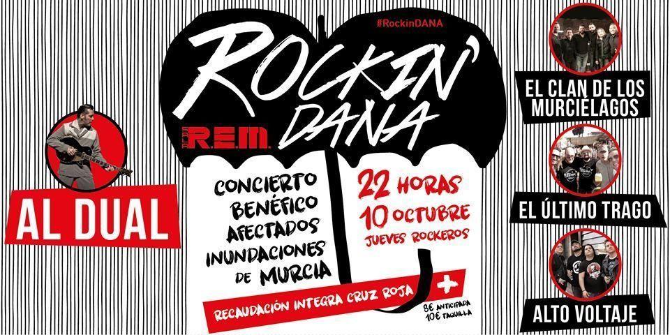 Rockin'Dana, concierto benéfico por los afectados en las inundaciones