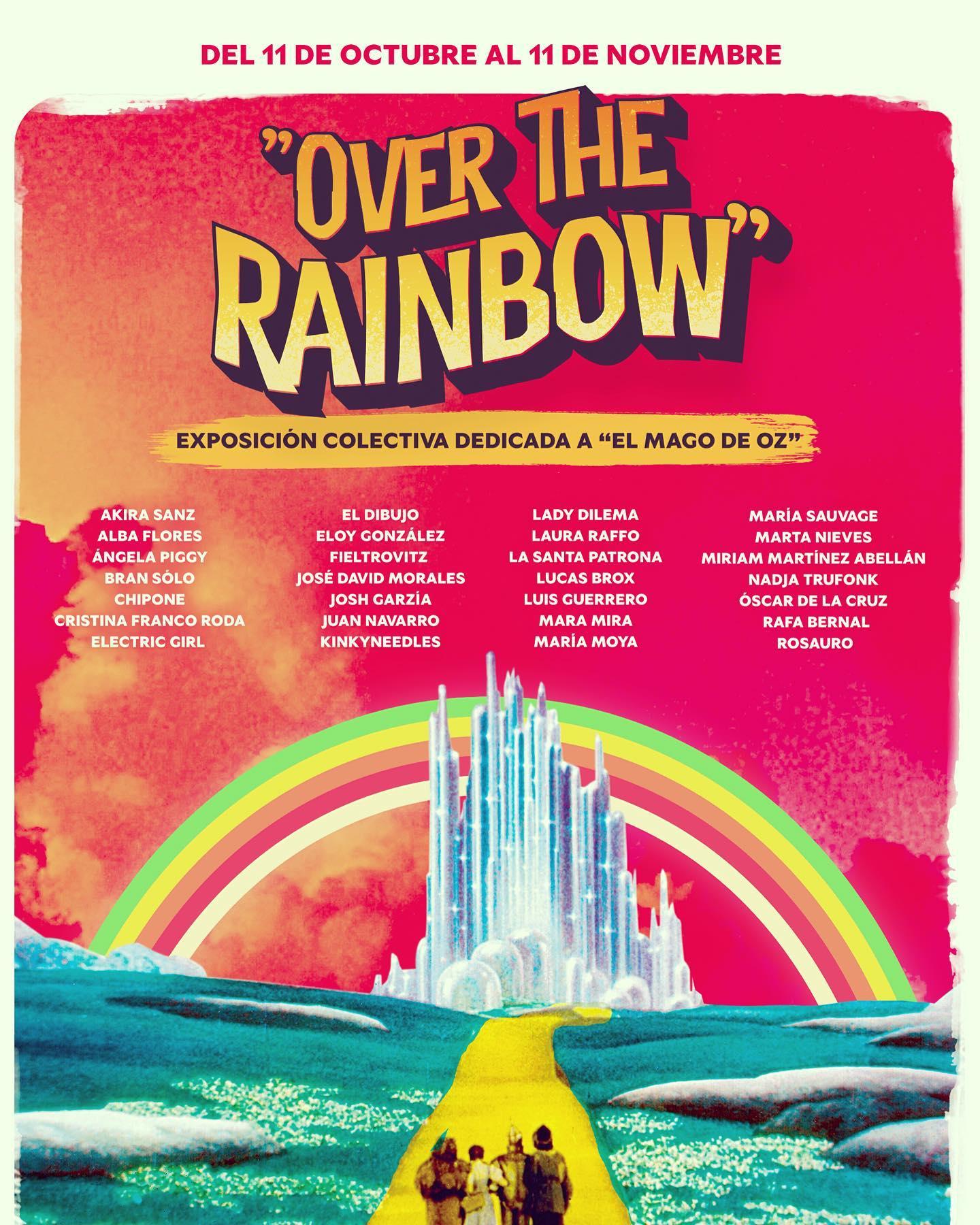 'Over the Rainbow', la exposición de artistas murcianos que homenajea El Mago del Oz