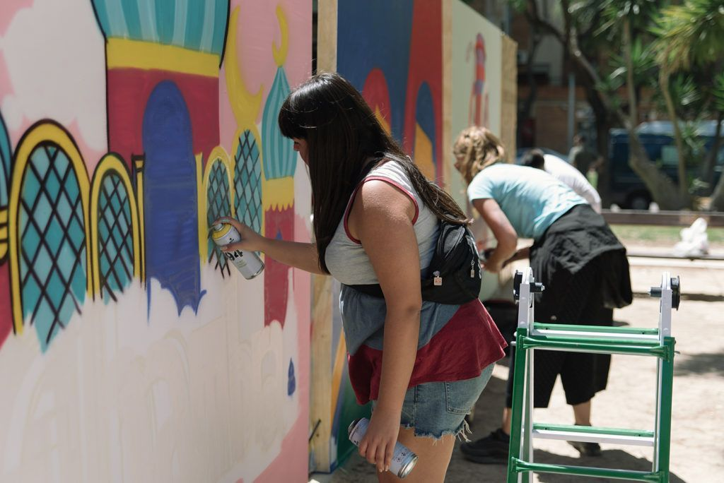 Kraser, Nels y Pigüo estarán en Murcia Se Expresa con su arte urbano