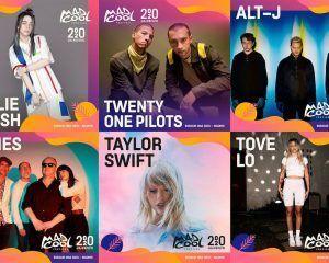 Taylor Swift, Billie Eilish, Pixies y Twenty One Pilots entre los primeros confirmados del Mad Cool 2020
