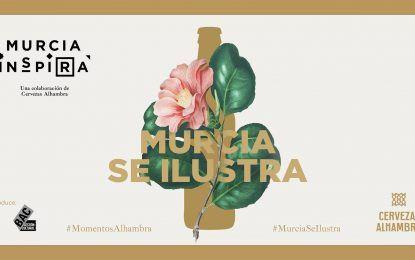 Una visión contemporánea de la ciudad dibuja la nueva edición de Murcia Se Ilustra de Murcia Inspira y Cervezas Alhambra