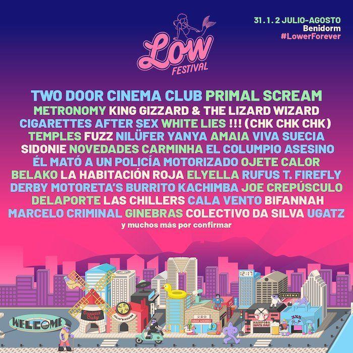Low Festival 2020: Confirmaciones y entradas