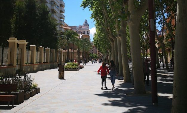 El Paseo Alfonso X se inaugura con música