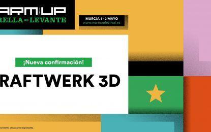Kraftwerk estará con su show 3D en el WARM UP Estrella de Levante 2020