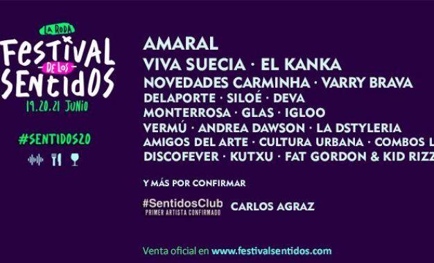 Festival de los Sentidos 2020: Confirmaciones y entradas