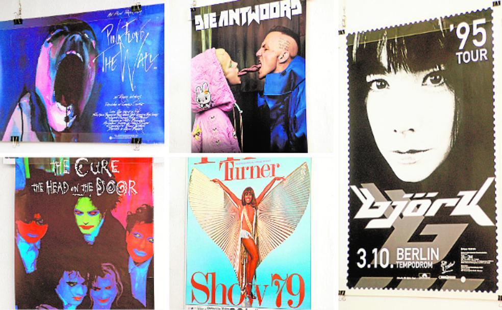 LePulgar ofrece en su Instagram un viaje a través de 300 carteles de música con la exposición 'Otros mensajes de la música'